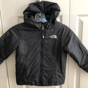 Girls The North Face Reversible Jacket Size XXS